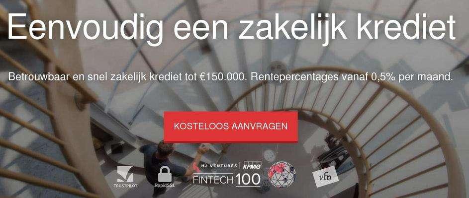 Snel zakelijk krediet tot honderdduizend euro